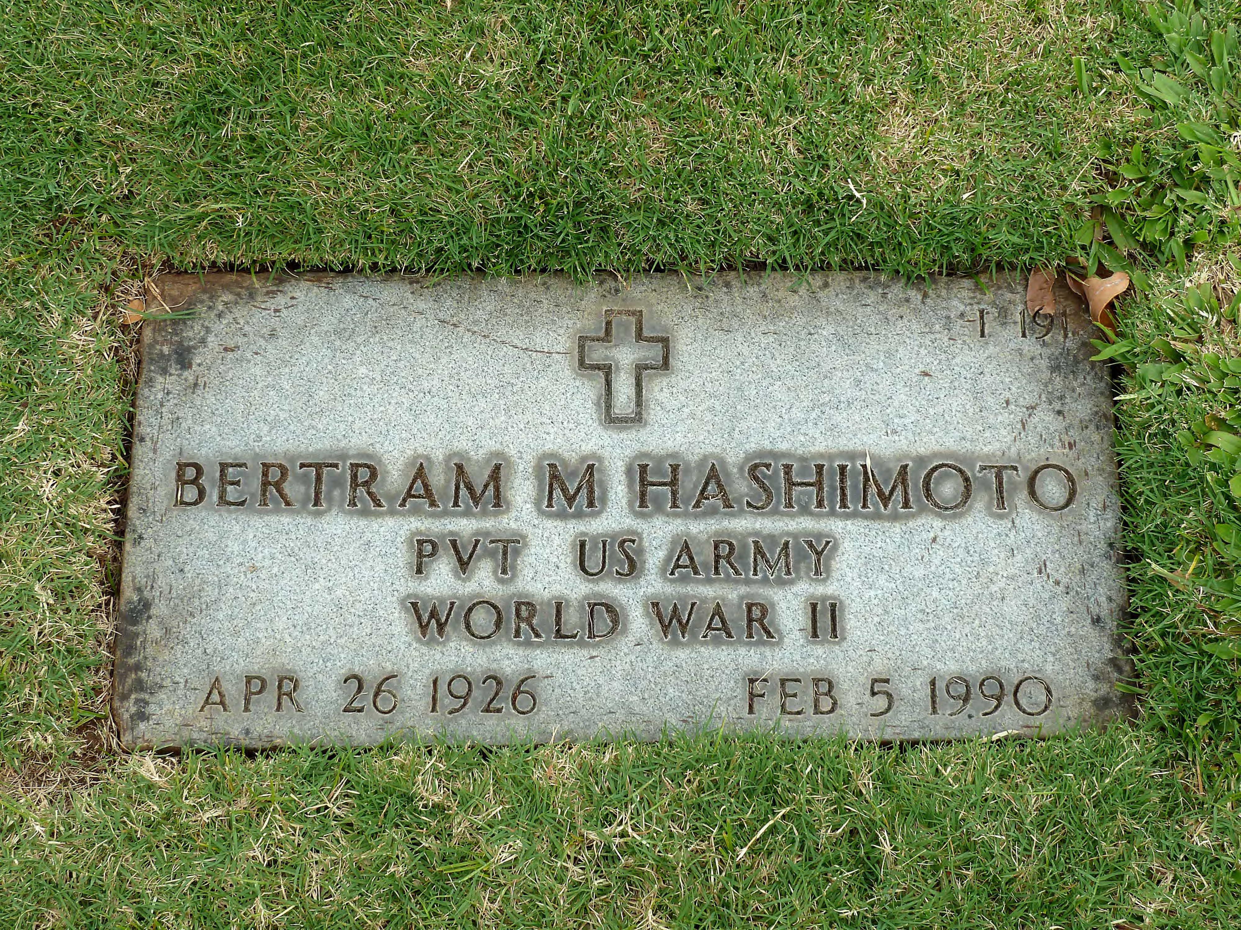 Bertram M Hashimoto