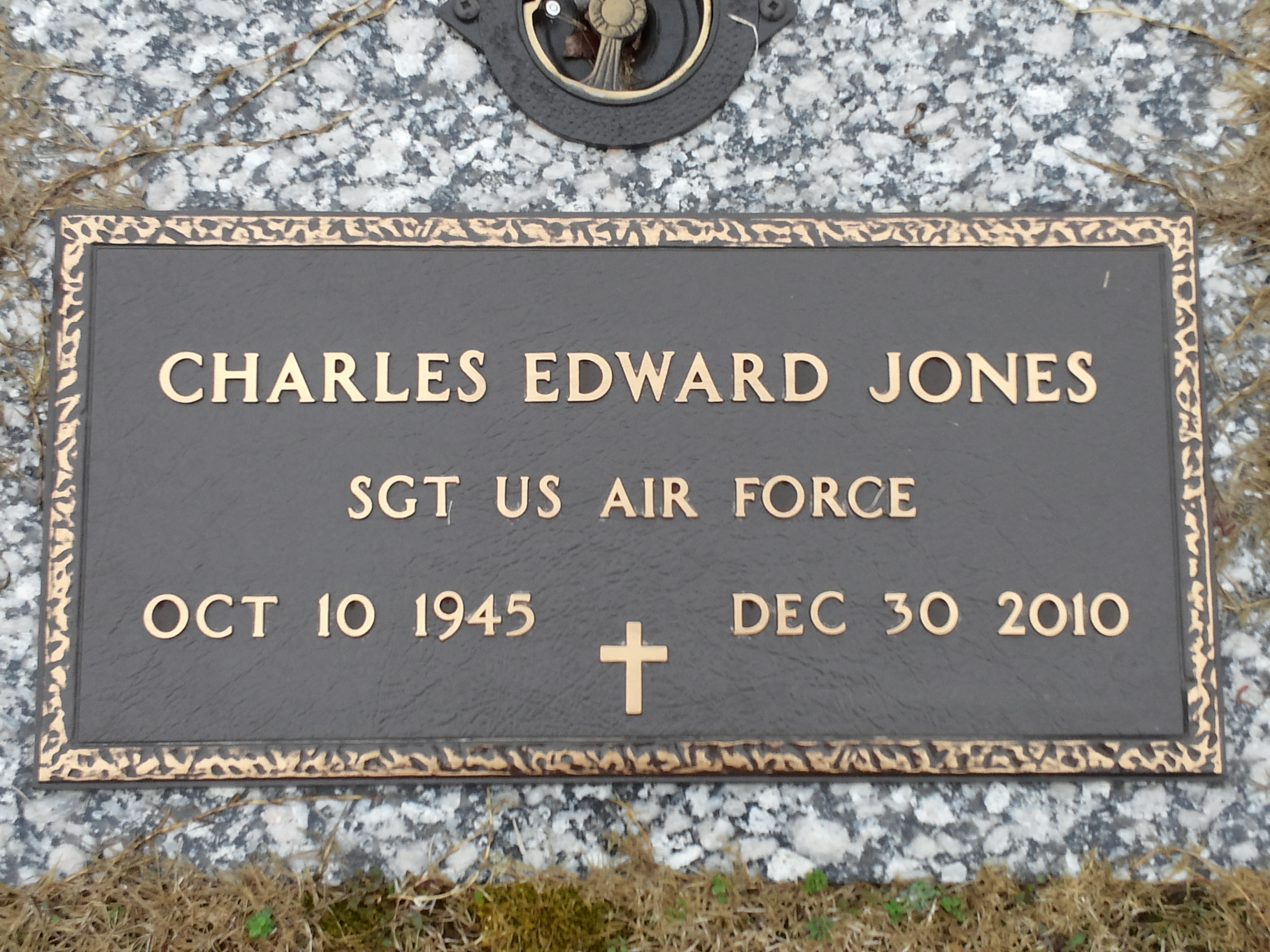 Sgt Charles Edward Charlie Jones