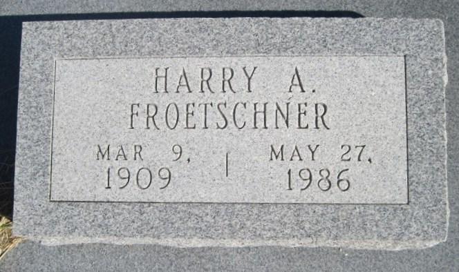 Harry Alvin Froetschner