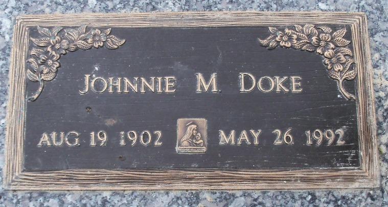 Johnnie Mae <i>Jones</i> Doke