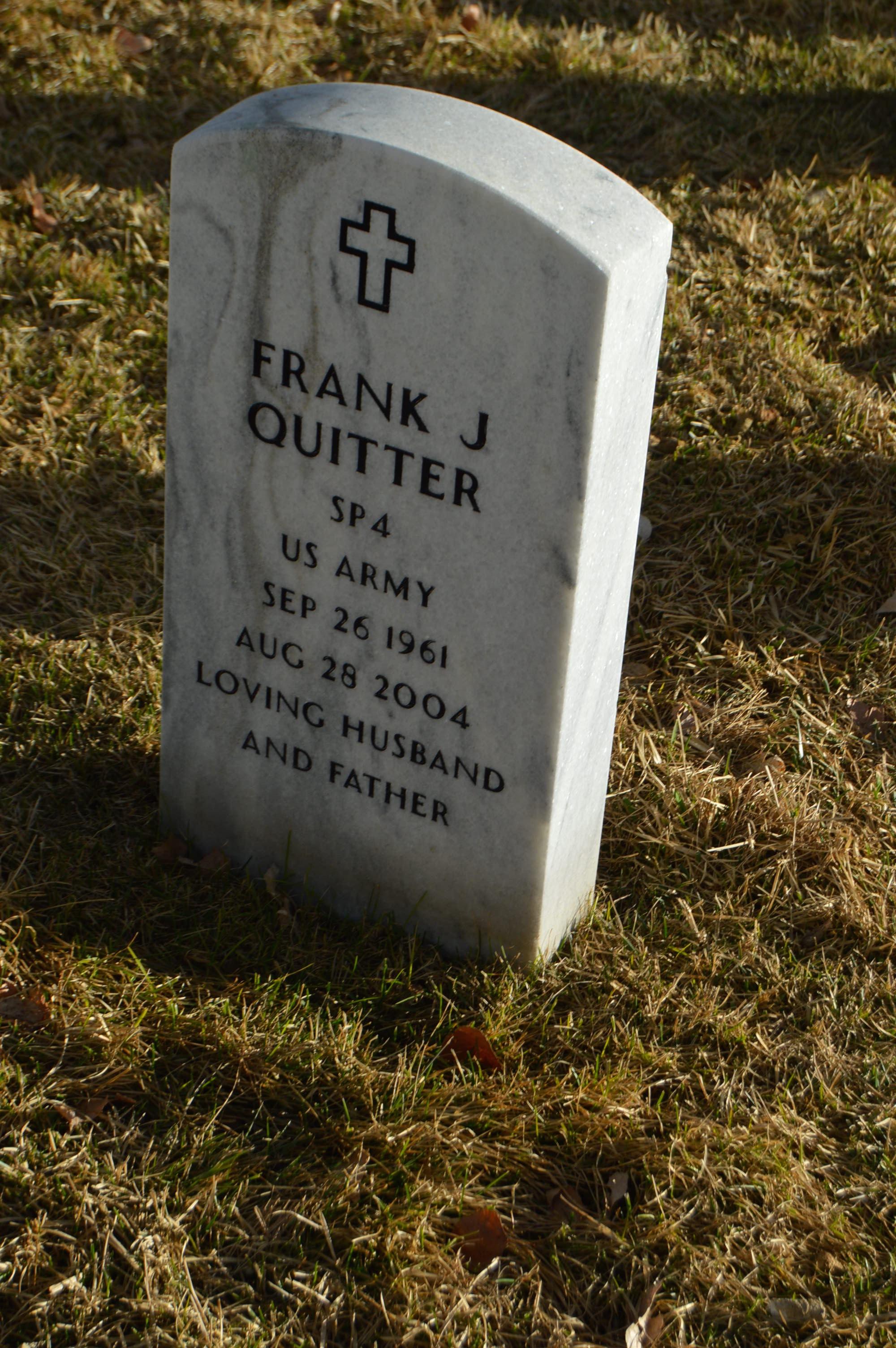 Frank J Quitter