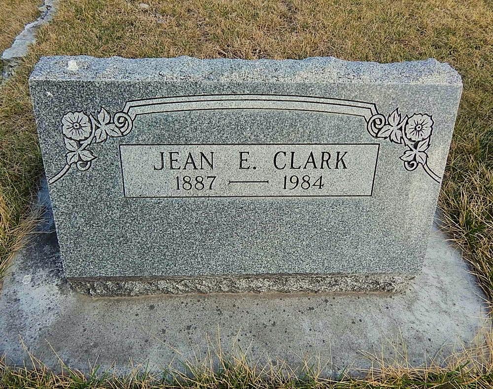 Jean E <i>Burnett</i> Clark
