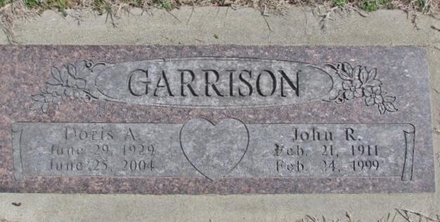 Doris Alene <i>Bradford</i> Garrison