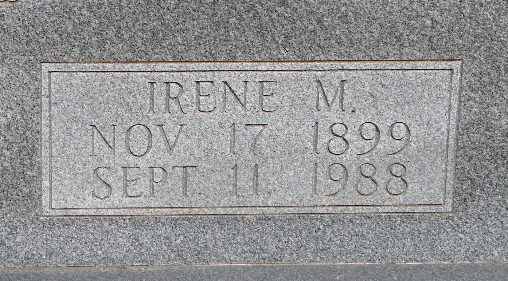 Irene M <i>Newsom</i> Howell