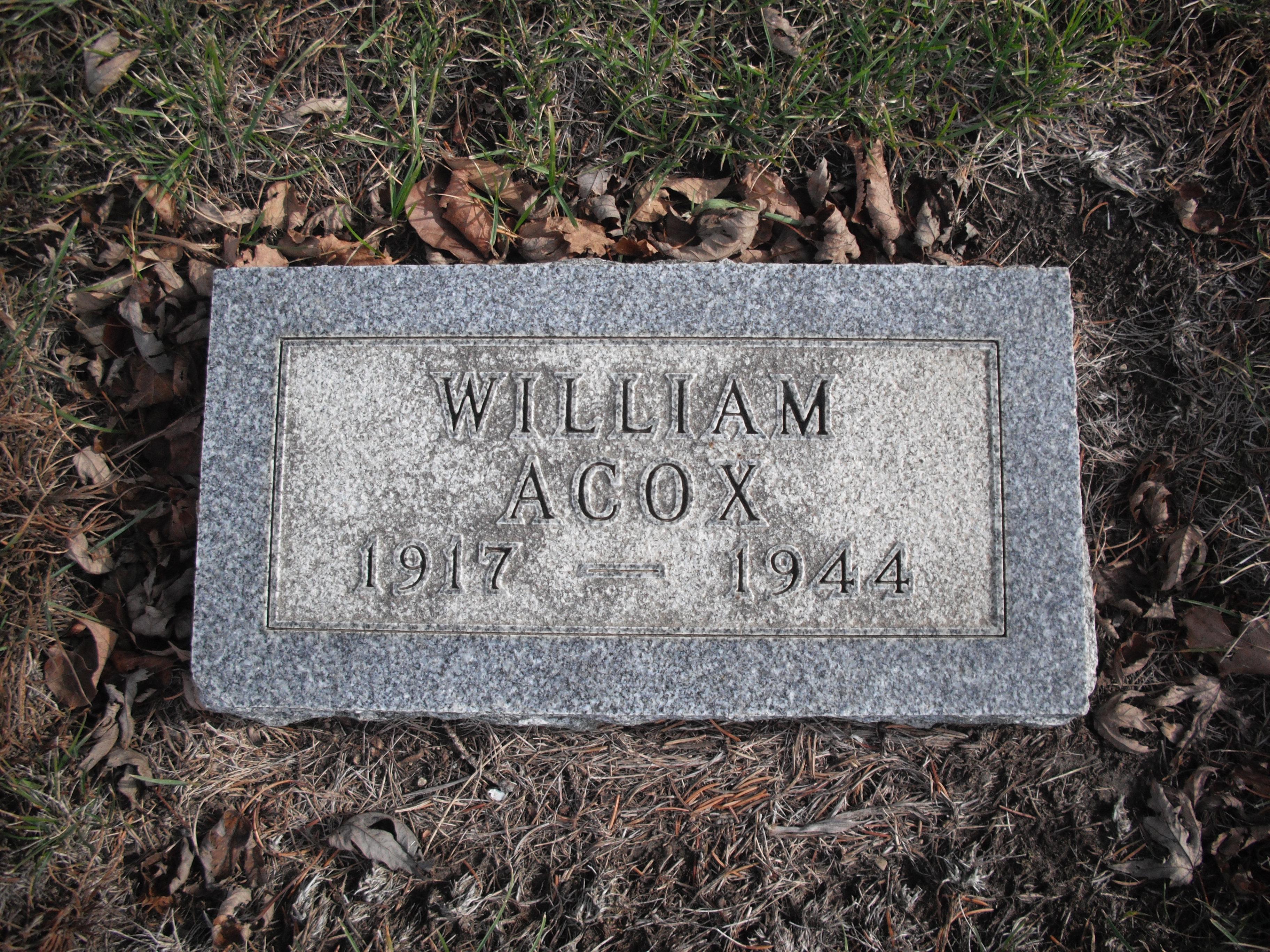 William Benjamin Acox