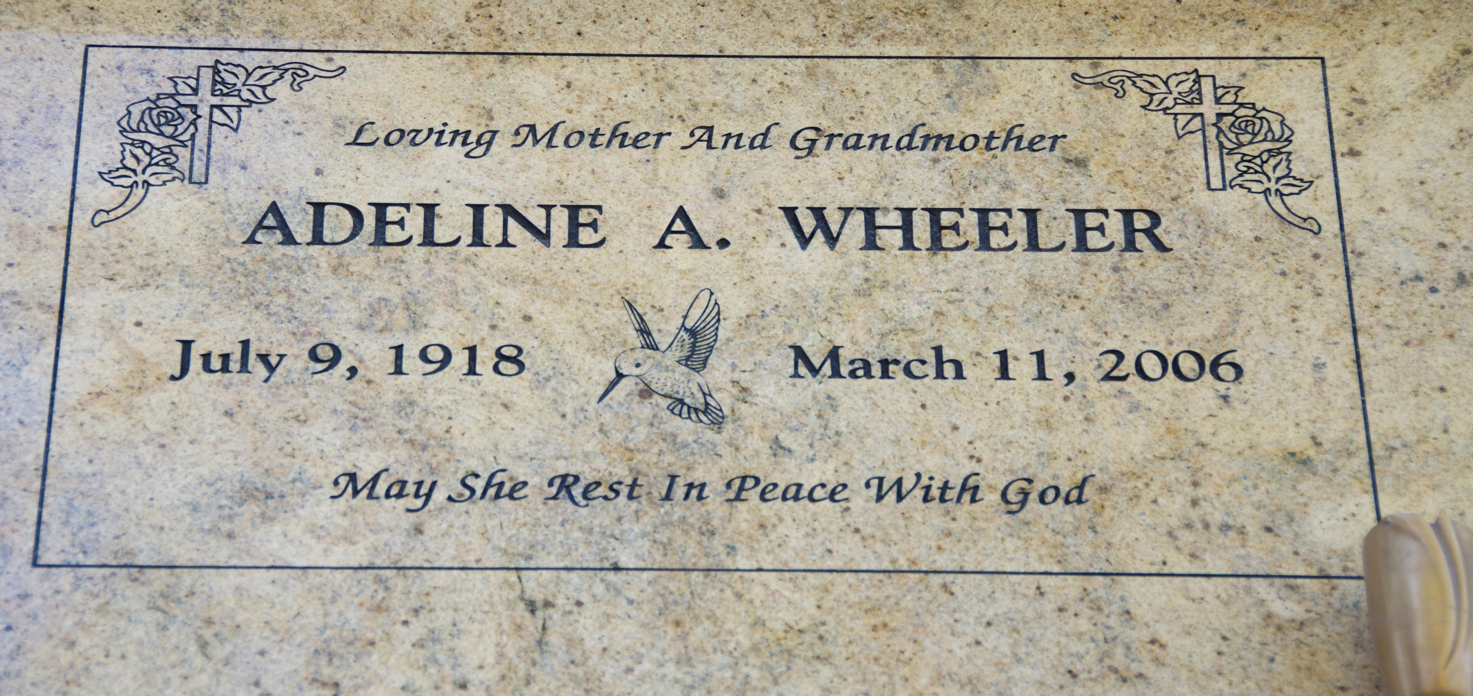 Adeline A. Wheeler