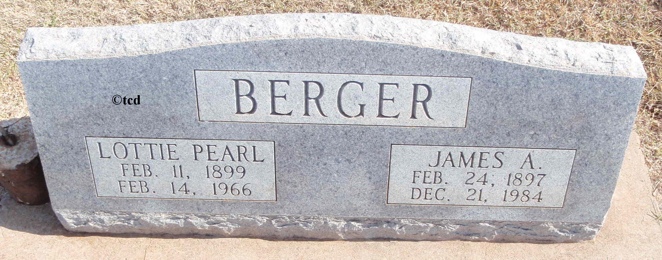 James Alfred Berger