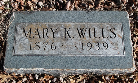Mary Katherine <i>Large</i> Wills