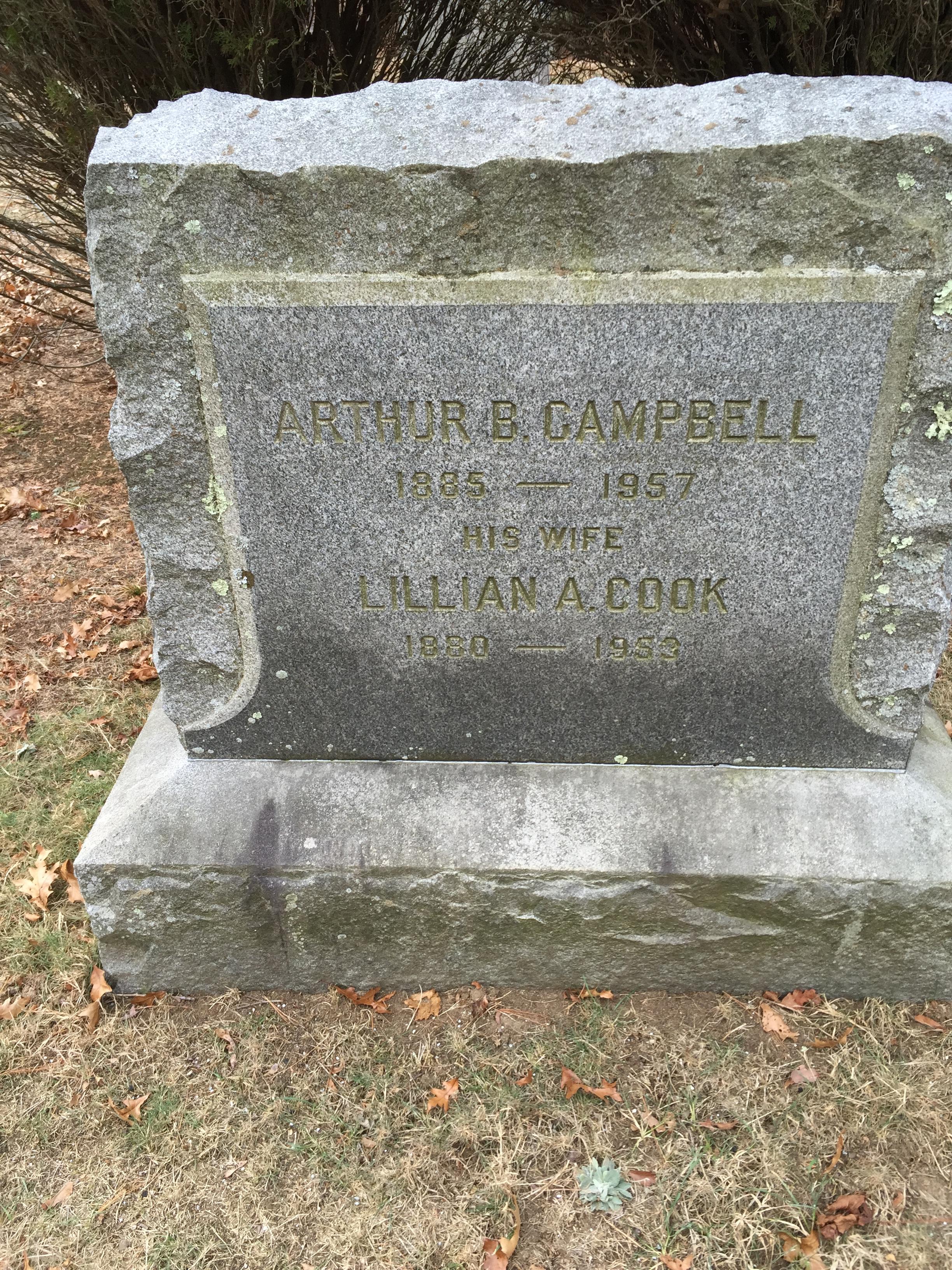 Arthur b Campbell
