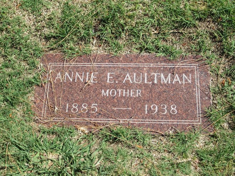 Annie Elizabeth <i>Wilson</i> Aultman