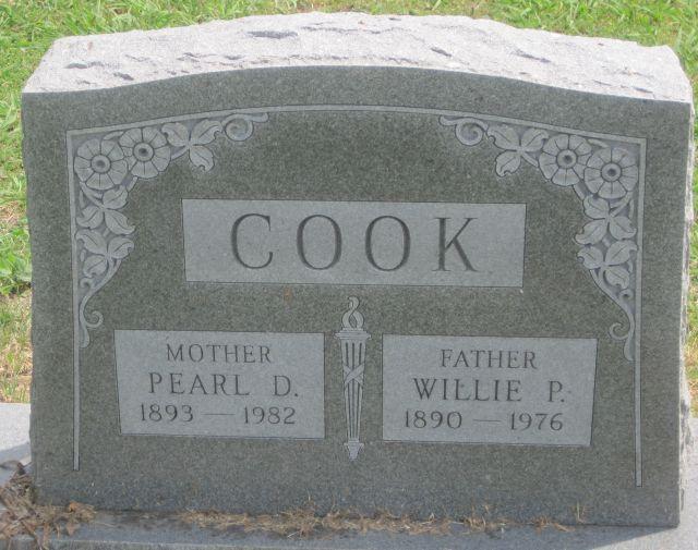 Pearl Donna <i>Estes</i> Cook