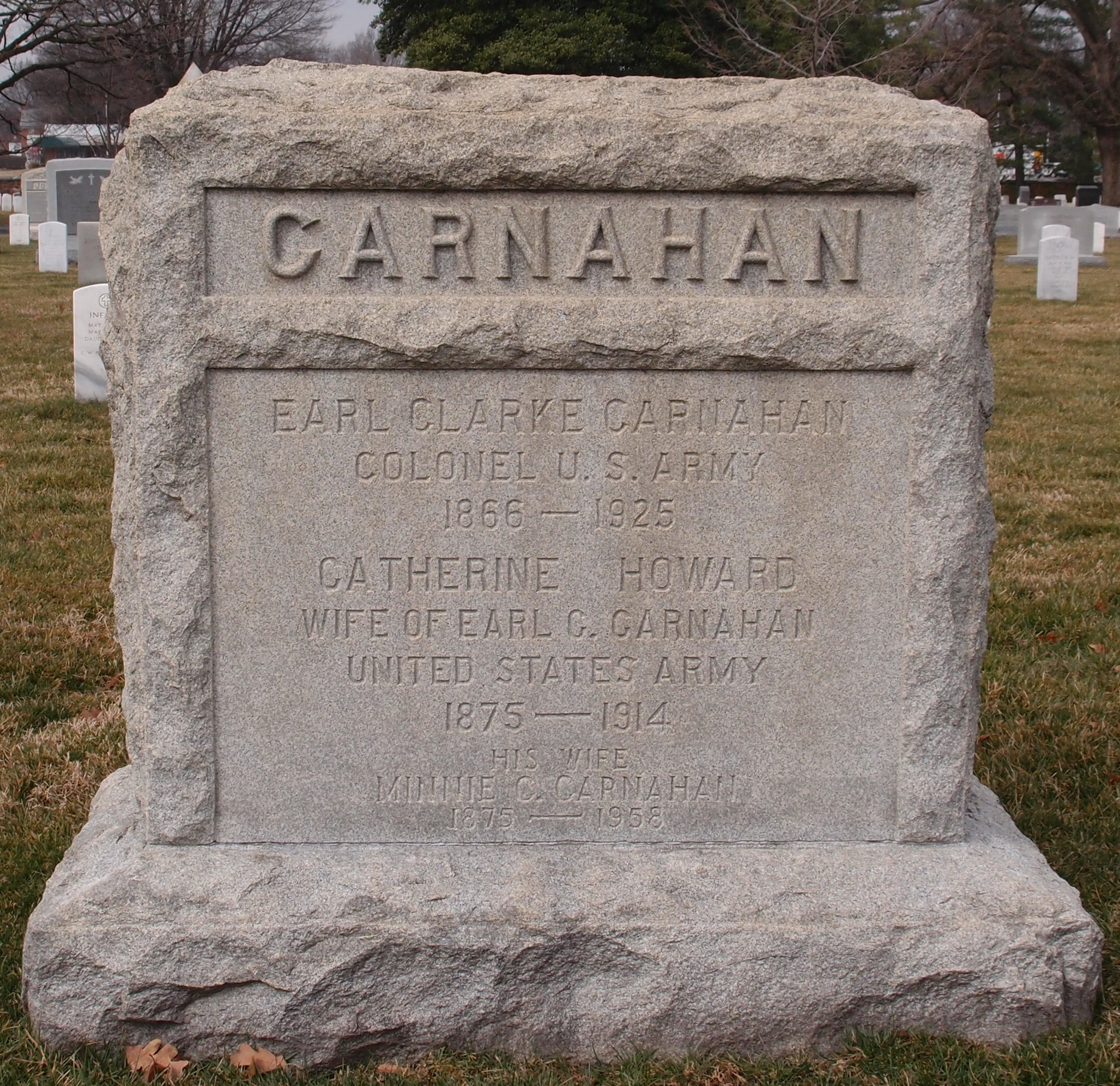 Catherine <i>Howard</i> Carnahan