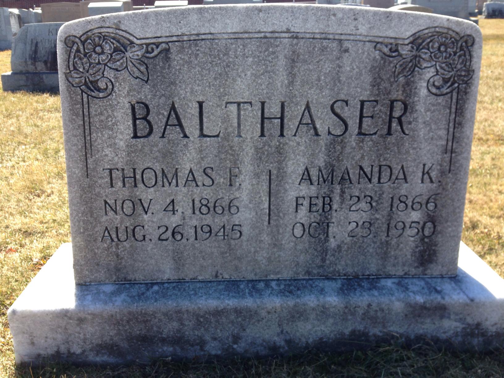 Amanda K Balthaser