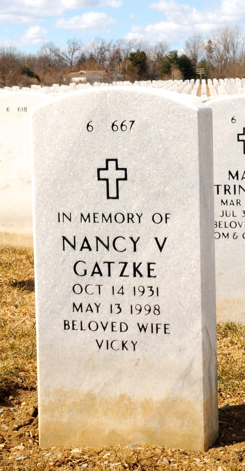 Nancy Vicki <i>Vickerman</i> Gatzke