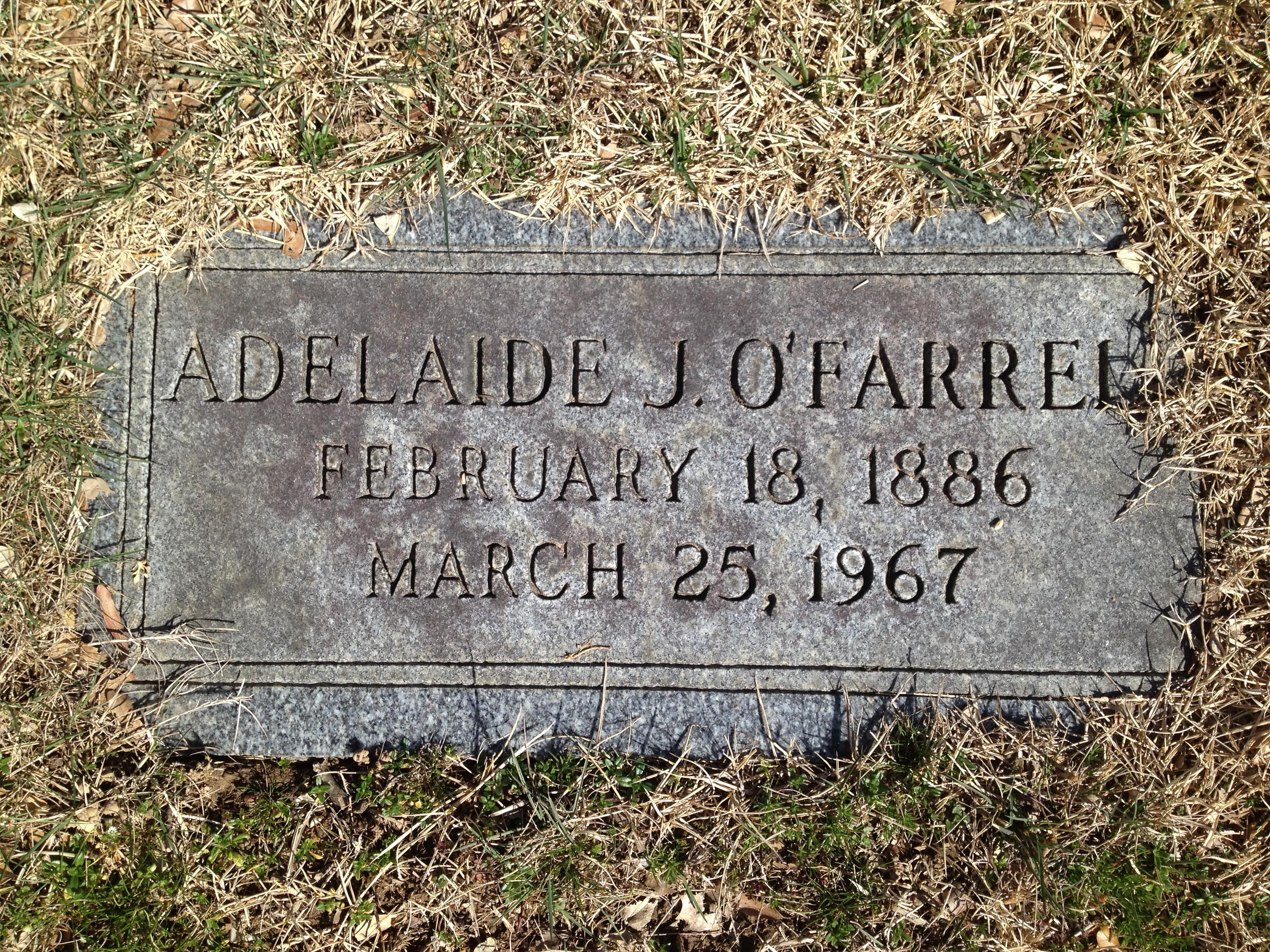 Adelaide Grant <i>Joullian</i> O'Farrell