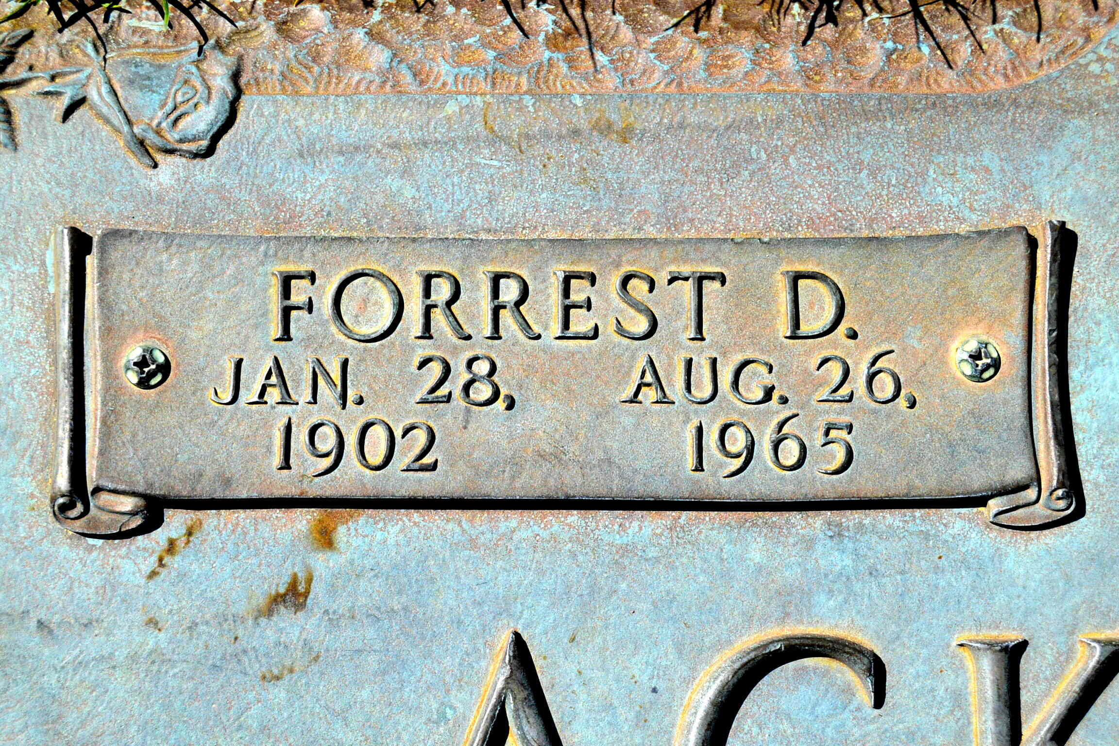 Forrest Donald Ackerman