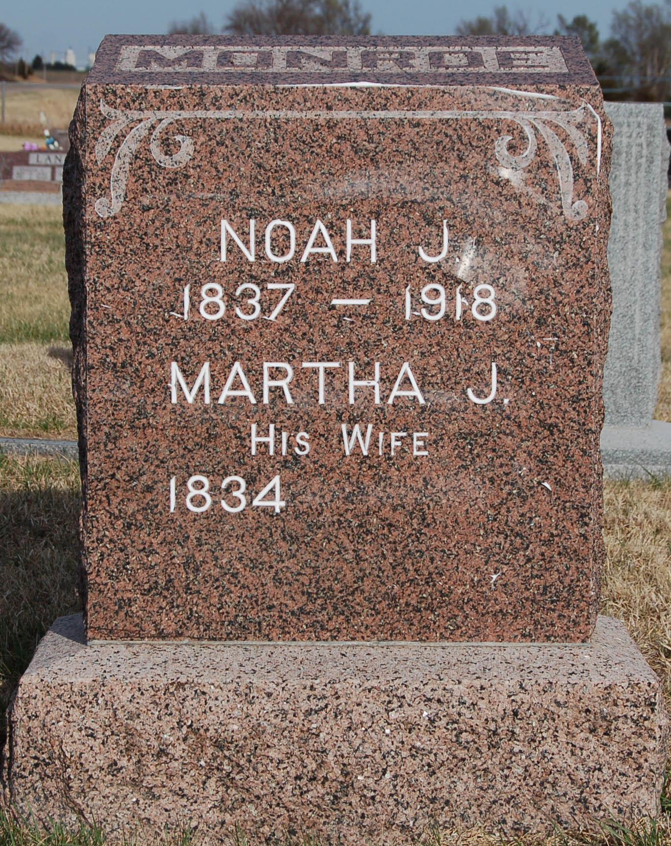 Noah James Monroe