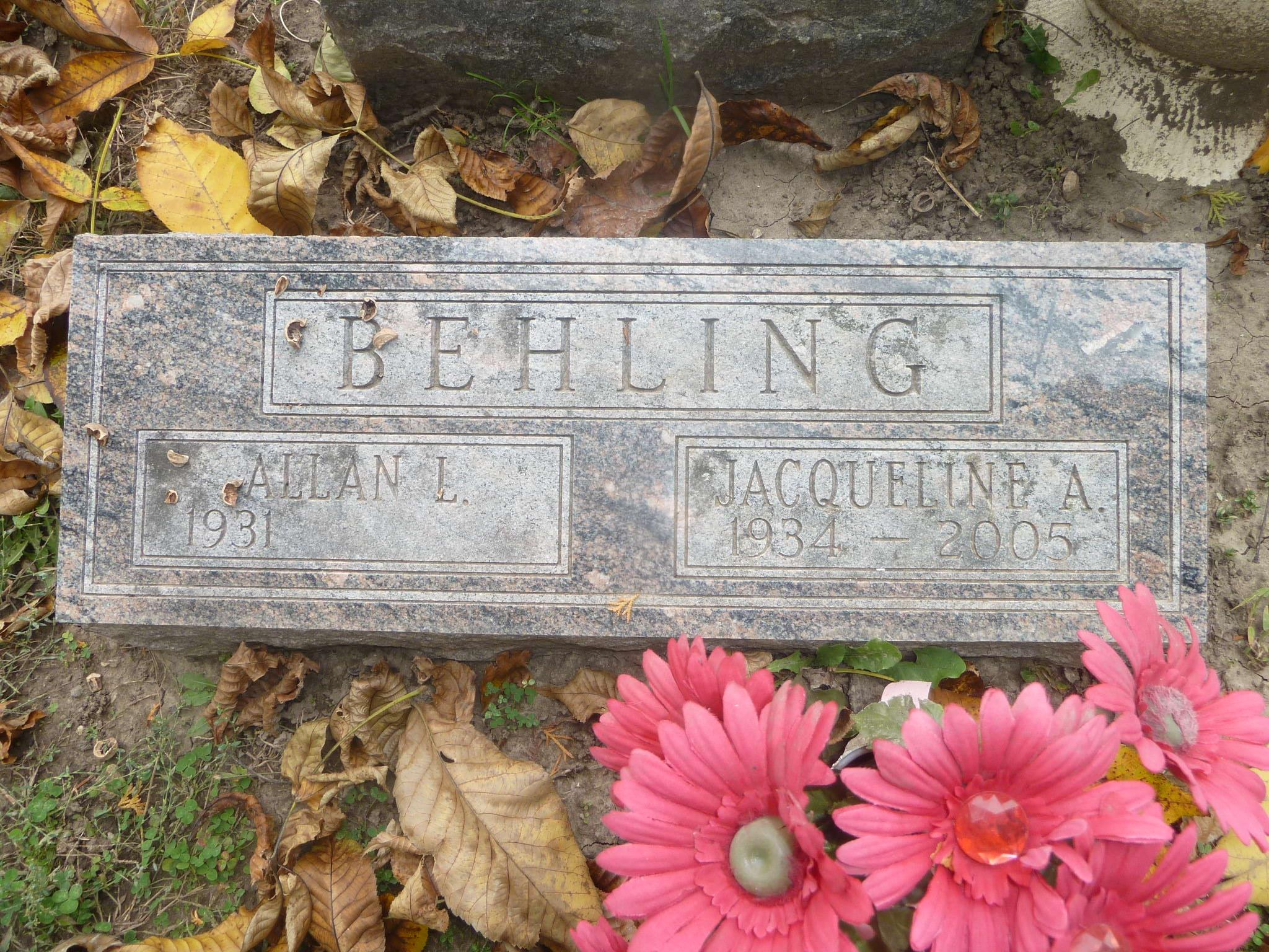Jacqueline Ann <i>Berger</i> Behling