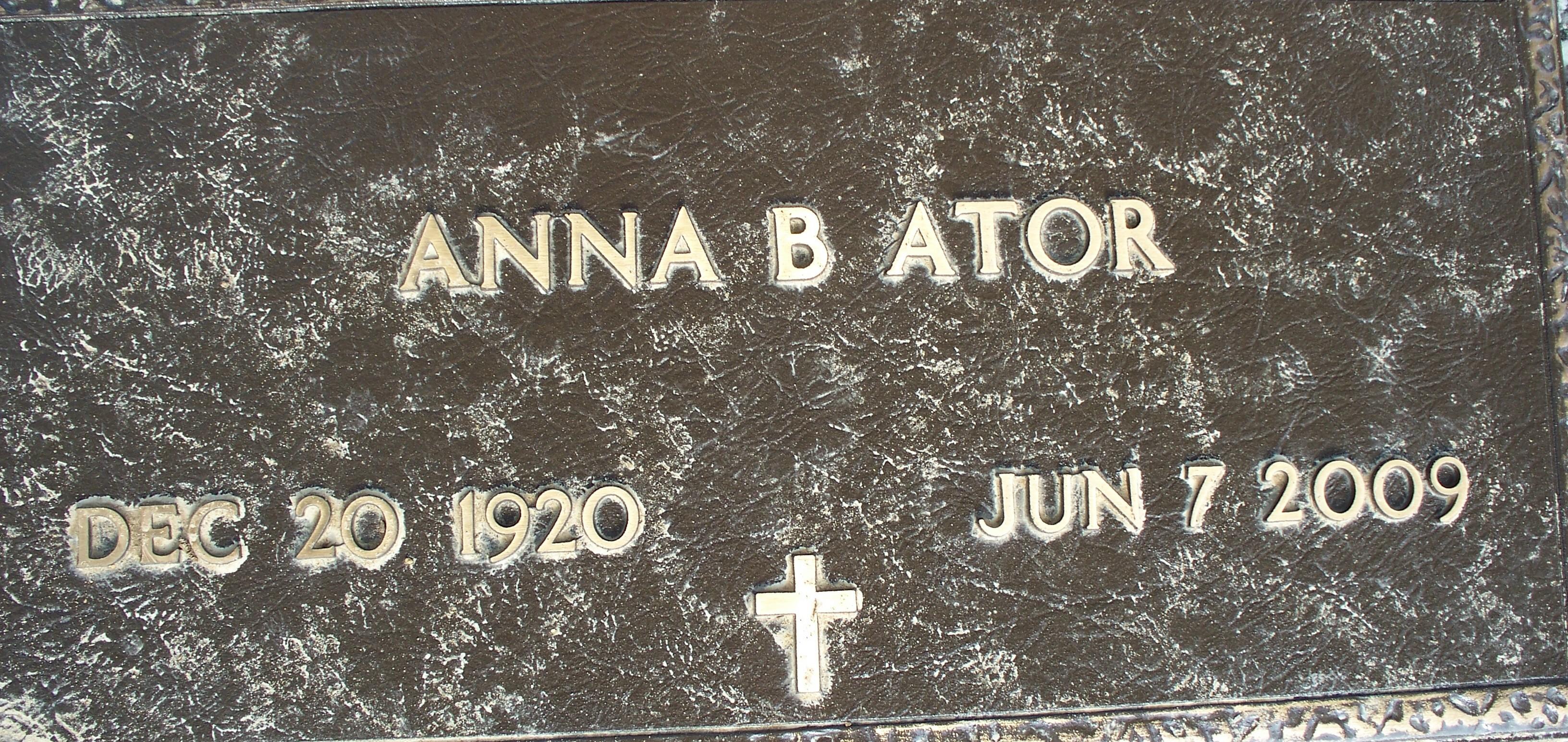 Anna Bob <i>Beckham</i> Ator