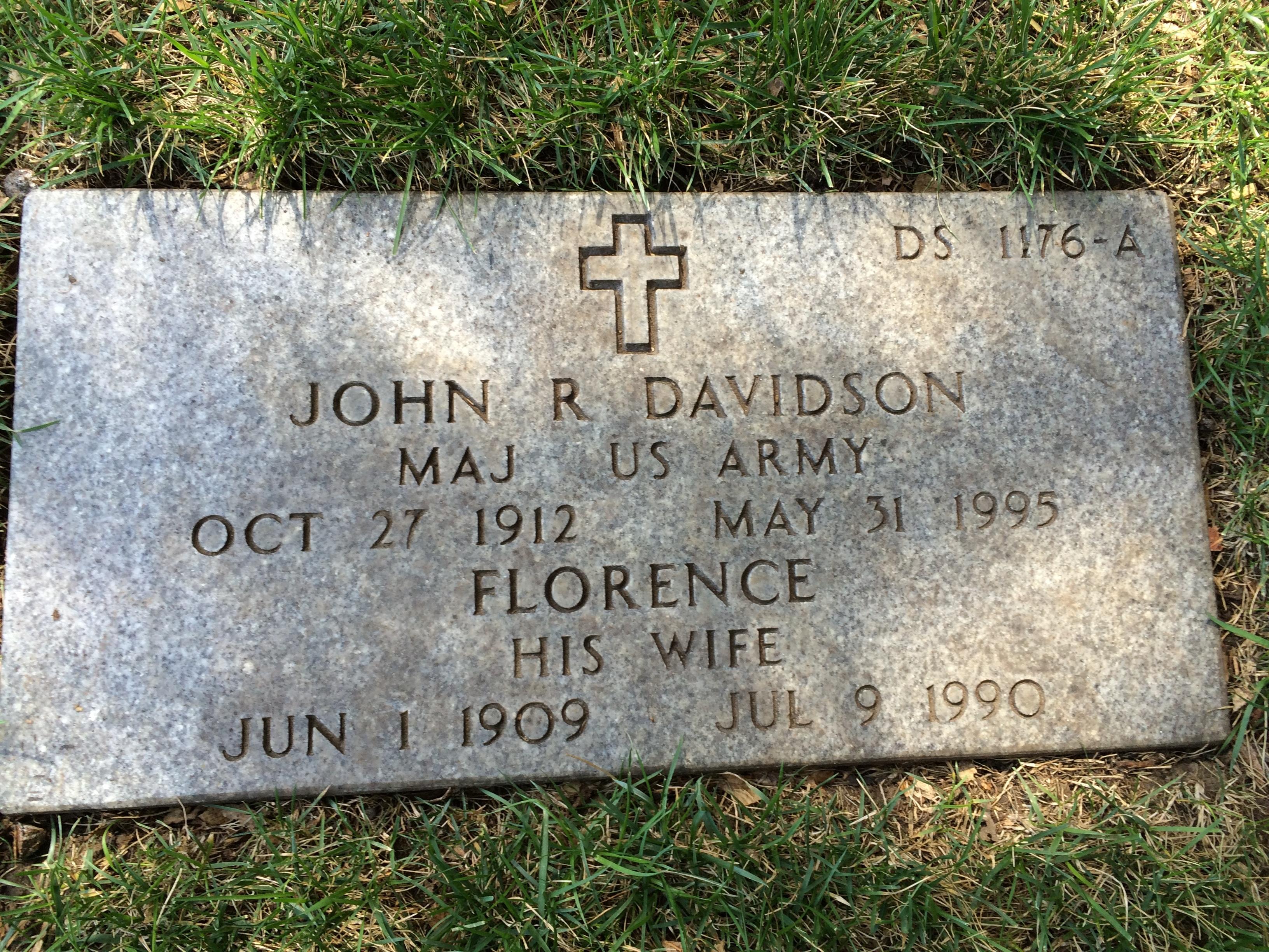 Florence Elizabeth <i>Dowson</i> Davidson