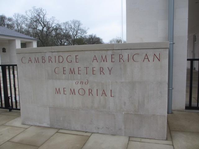 Cambridge American Cemetery and Memorial