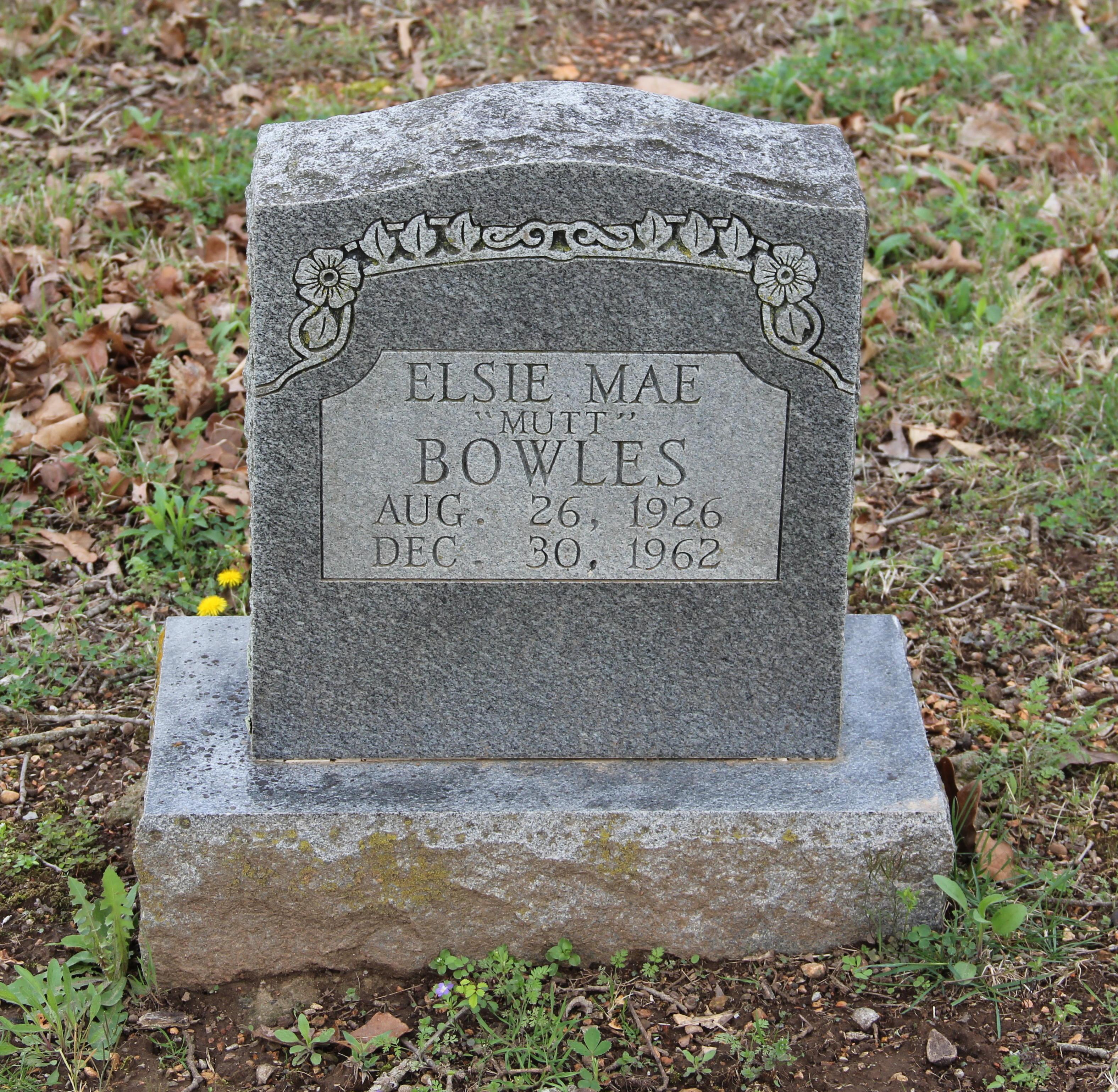 Elsie Mae Bowles