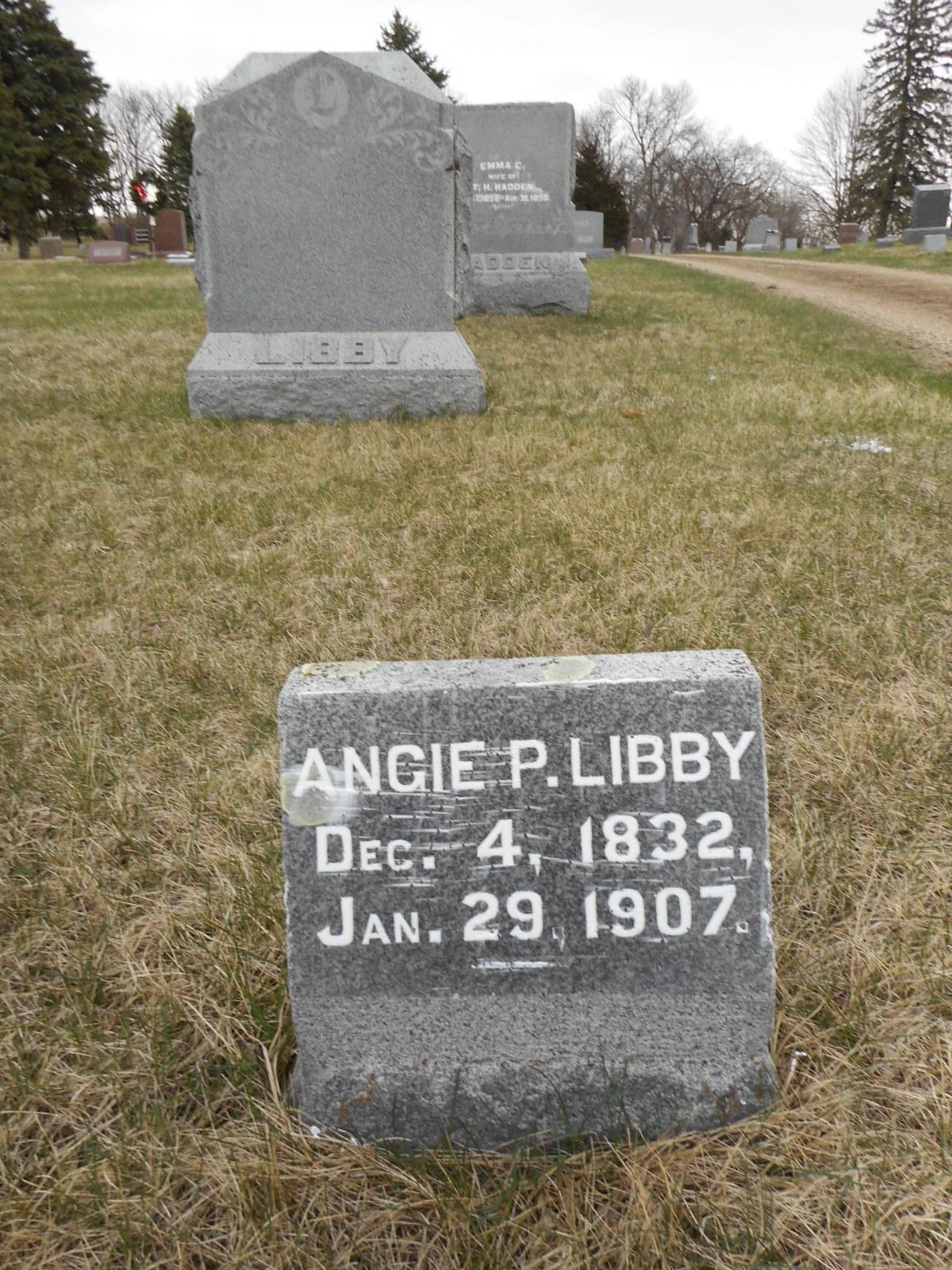 Angeline P. Angie <i>Riley</i> Libby