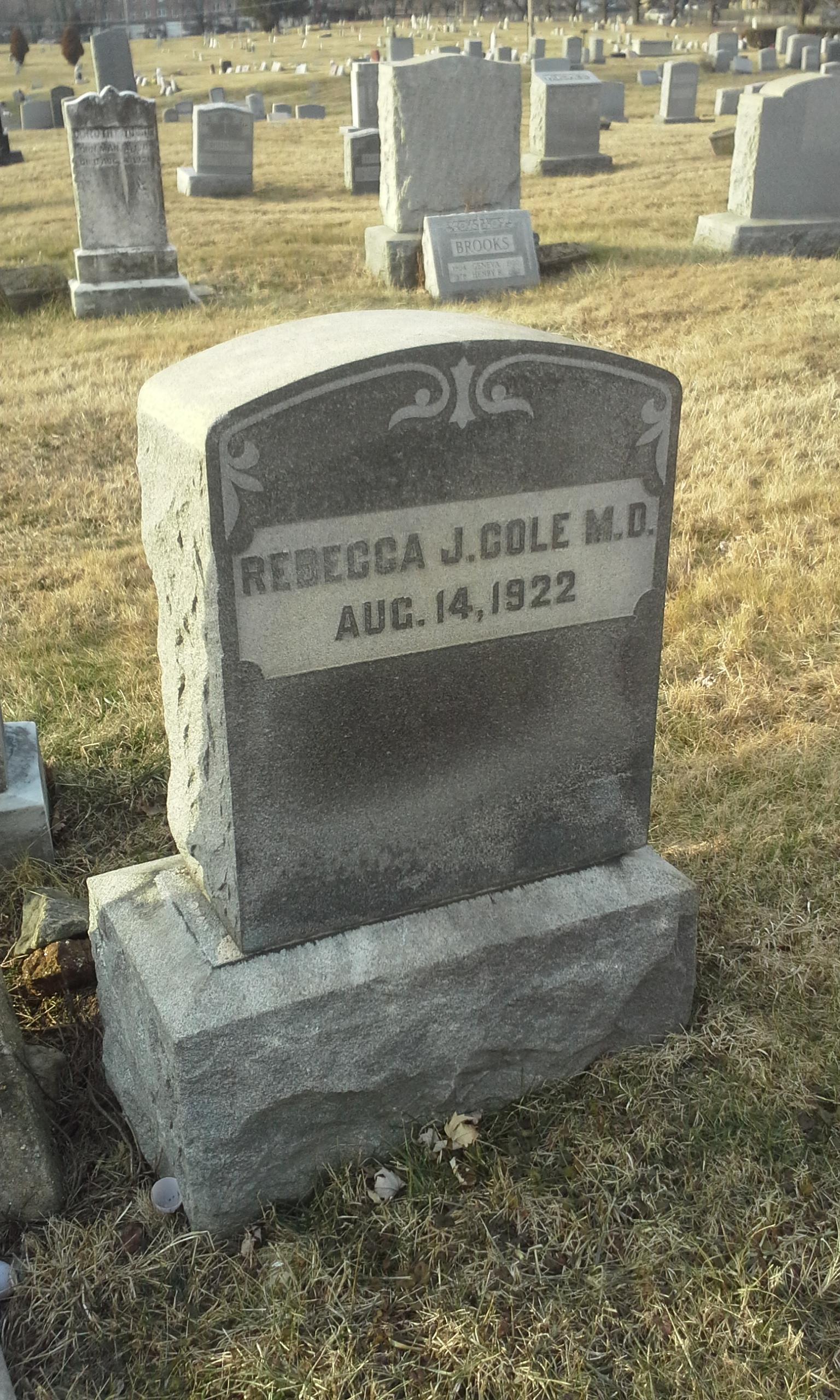 Dr Rebecca J. Cole (1846-1922) - Find A Grave Memorial