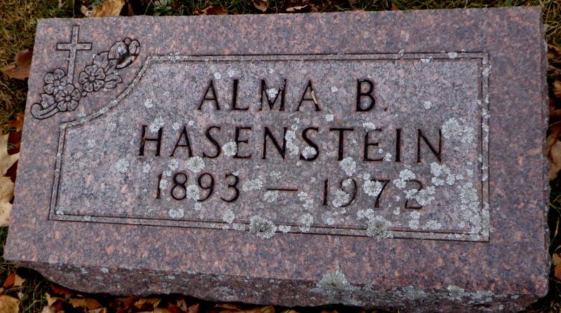 Alma B. <i>Nehrlich</i> Hasenstein