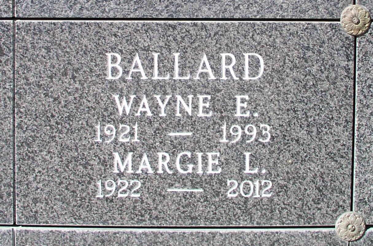 Margie Lucille <i>Ballinger</i> Ballard