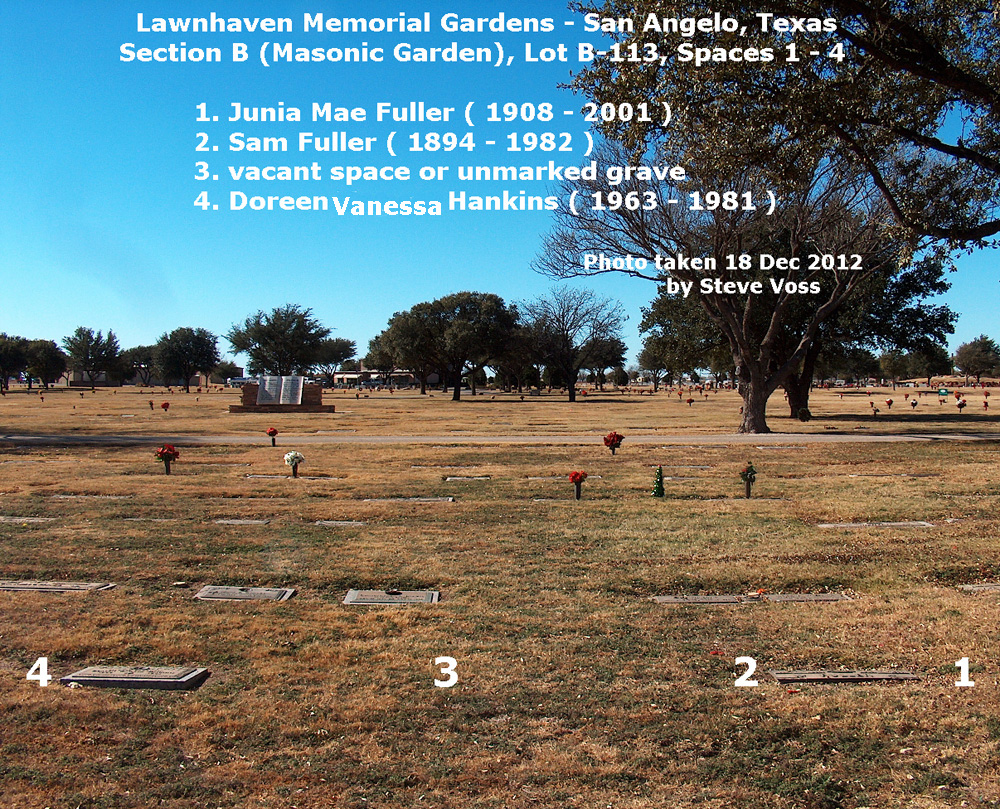 Doreen Vanessa Hankins (1963-1981) - Find A Grave Memorial