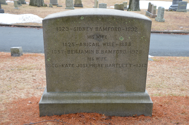 Kate Josephine <i>Bartlett</i> Bamford