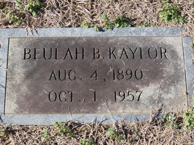 Beulah B. Kaylor