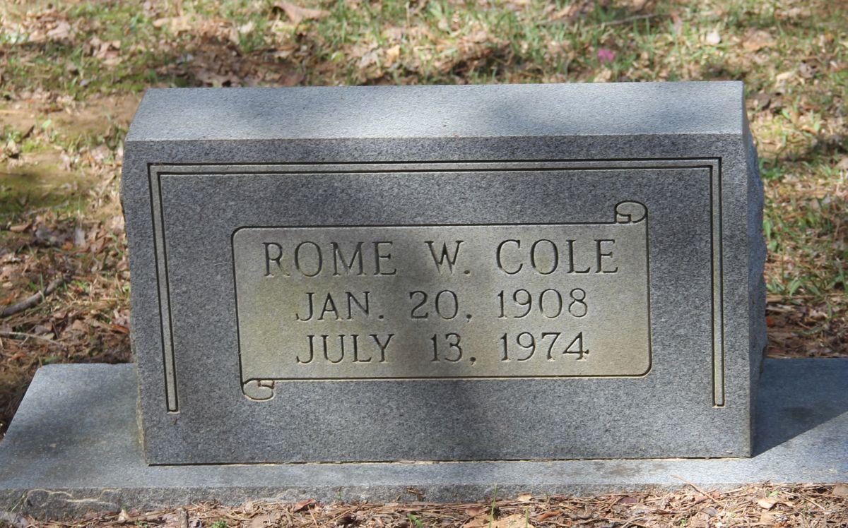Rome W. Cole