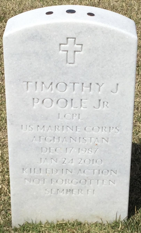 LCPL Timothy J. Bubba Poole, Jr