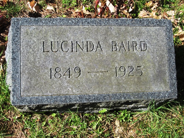 Lucinda <i>Mounts</i> Baird