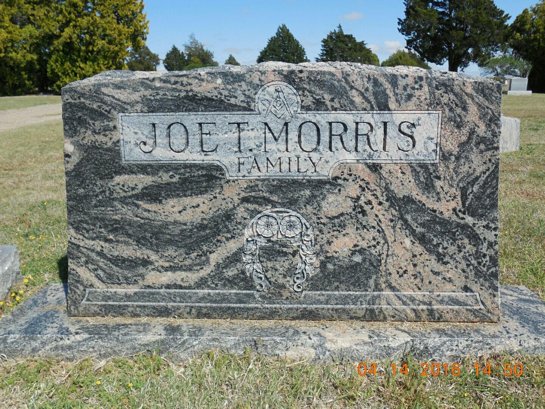 Joseph Thomas Joe Morris, Sr