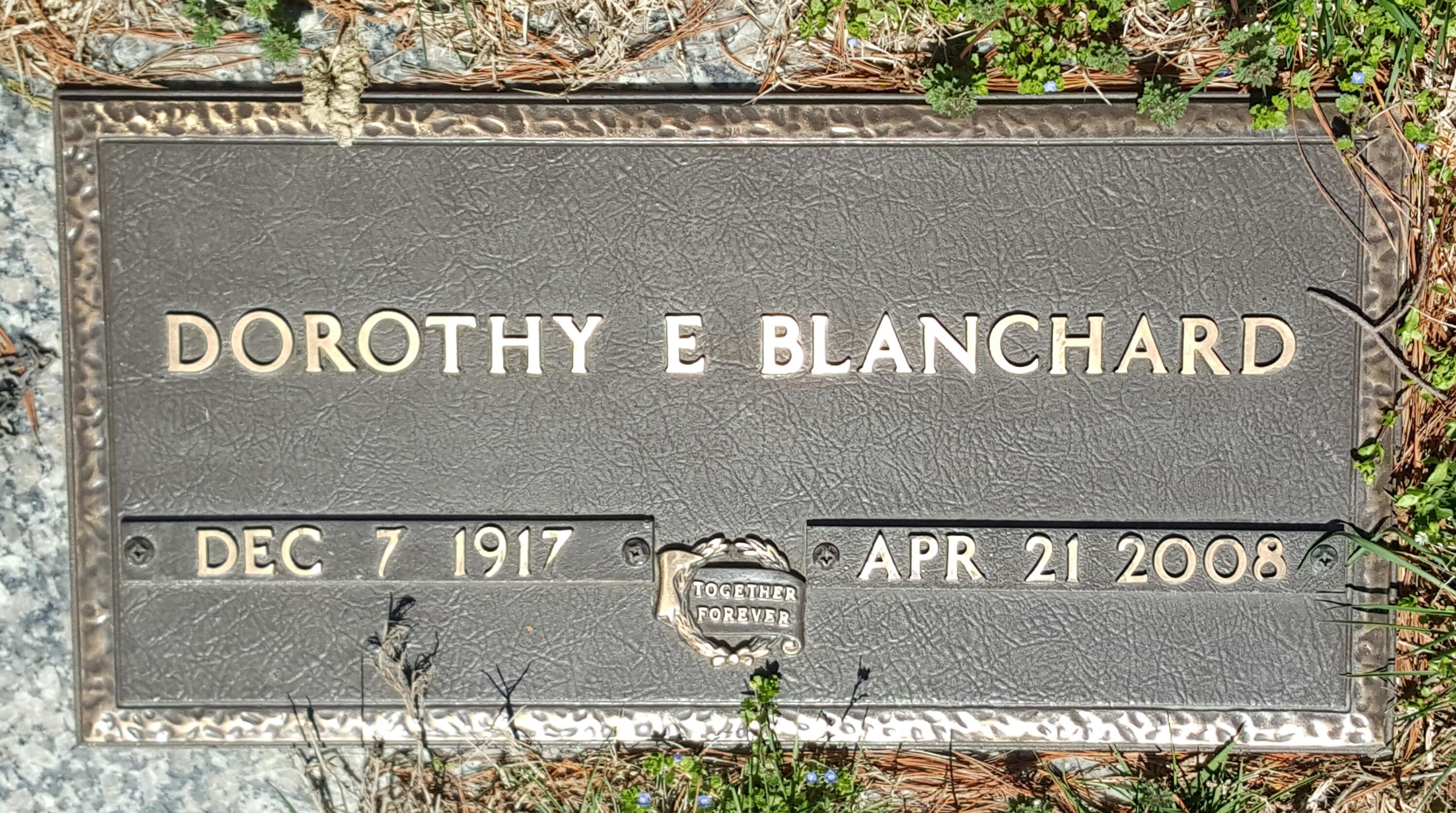 Dorothy E. Blanchard