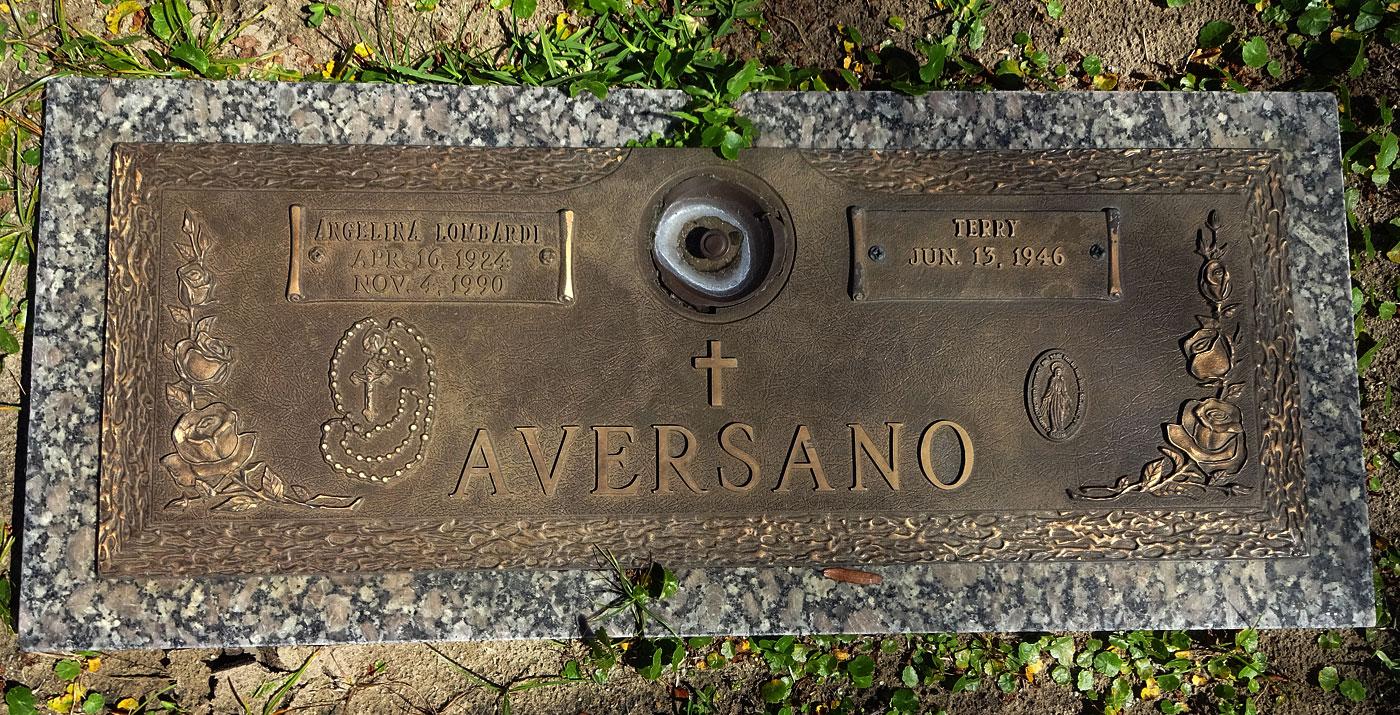 Angelina Lombardi Aversano (1924-1990) - Find A Grave Memorial