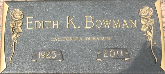 Edith Kathleen Bowman