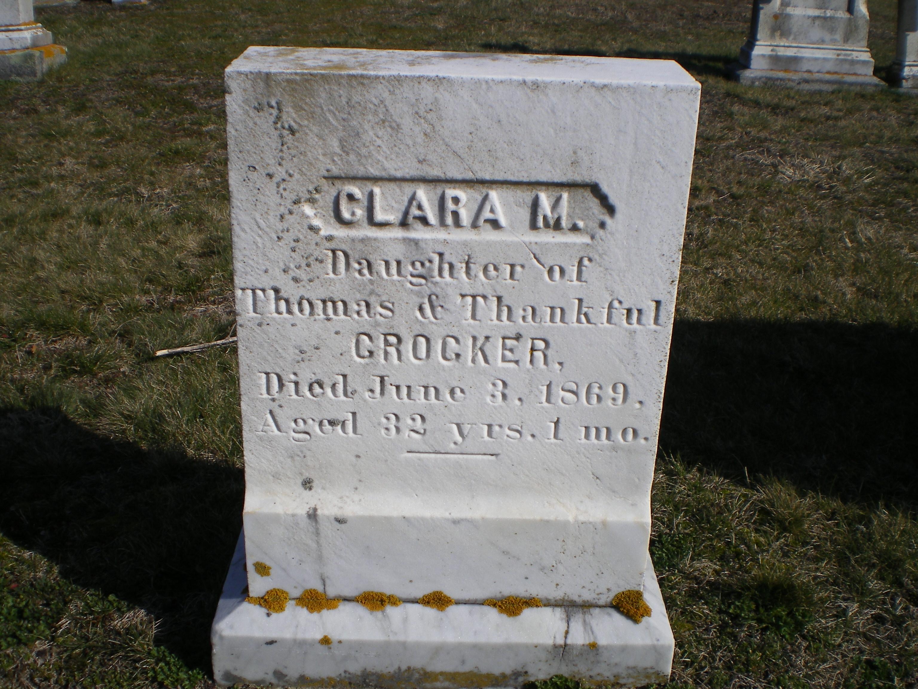Clara M. Crocker