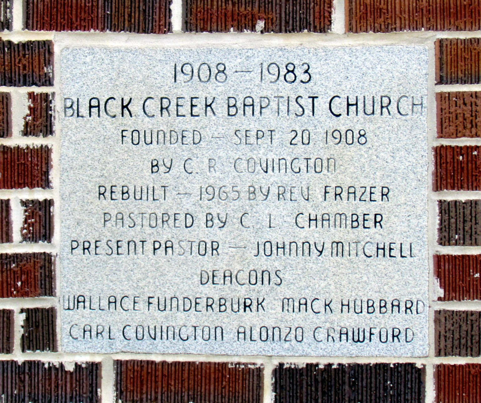church creek black singles Oak cliff bible fellowship is a 10,000 member bible-teaching church pastored by dr tony evans with a mission of discipling the church to impact the world the church.