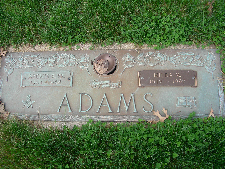 Archie Syrus Adams, Sr