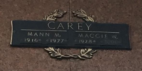 Maggie <i>Washington</i> Carey