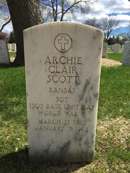 Archie Clair Scott