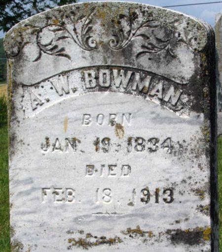 A W Bowman