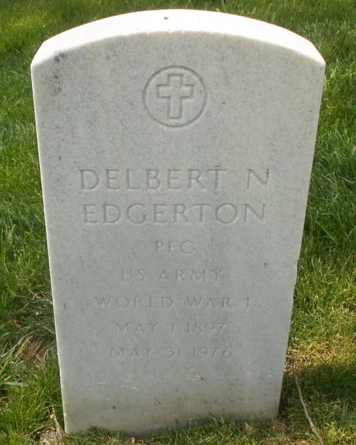 Delbert N Edgerton