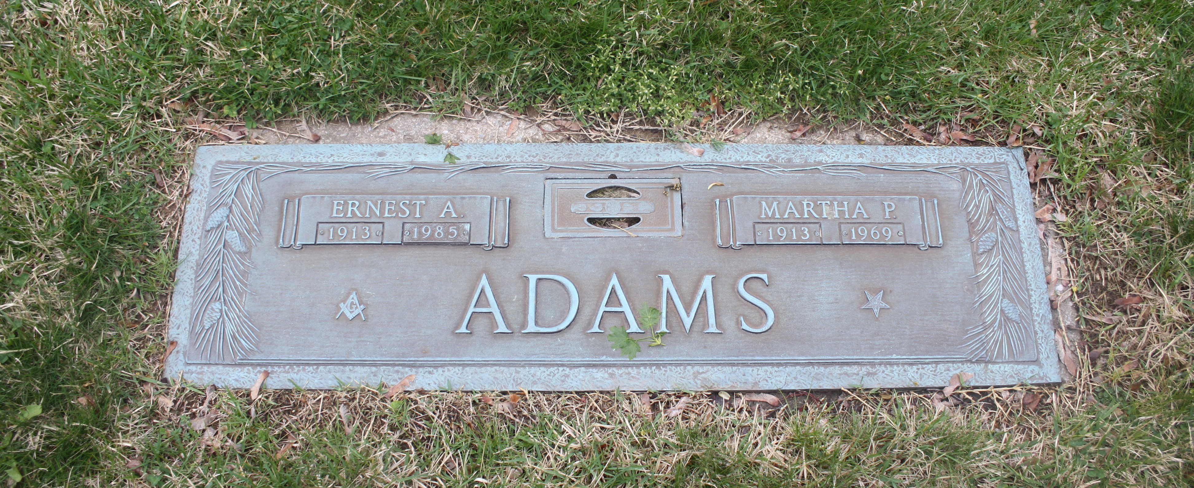 Ernest A Adams