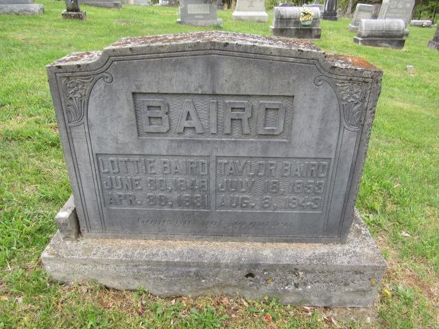 Charlotte Frances Lottie <i>Bennett</i> Baird
