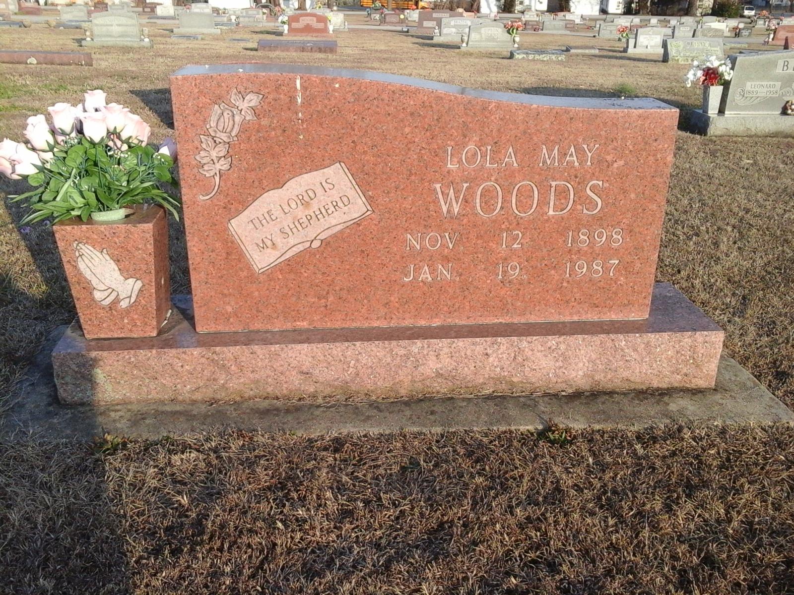 Lola May <i>Newman</i> Woods